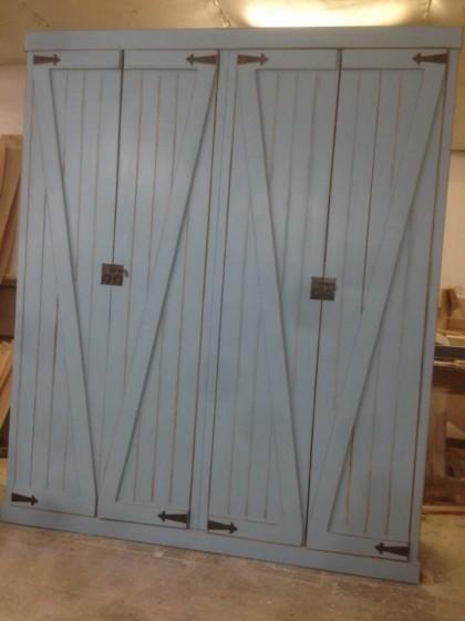 מדהים ארון דלתות אסם / ארונות בגדים במבצע - טרנקילה - רהיטים מעץ מלא YR-23